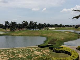 2日目のゴルフ場