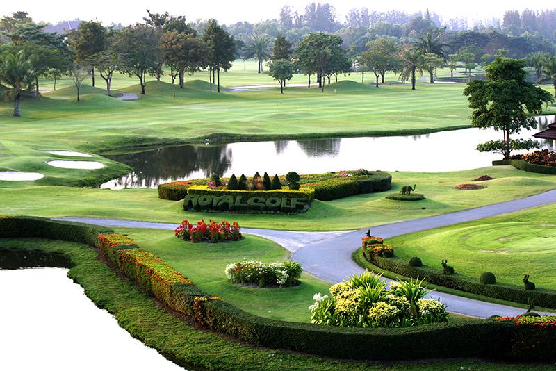 2回目のゴルフ場