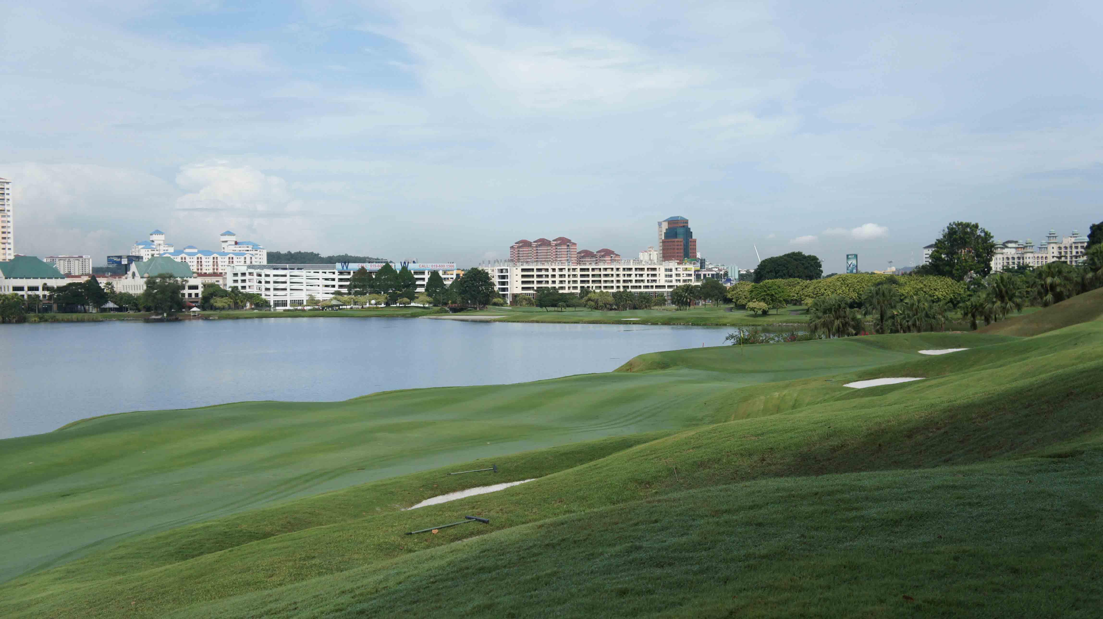 マレーシア:クアラルンプールゴルフ,ザ・マインズリゾート&ゴルフクラブ