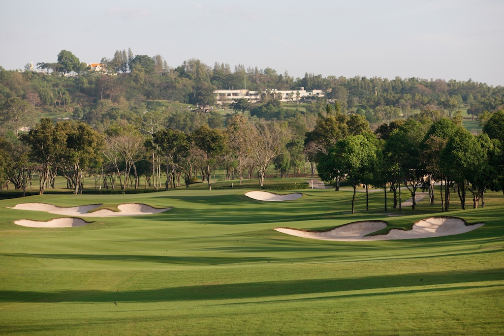 3日目のゴルフ場