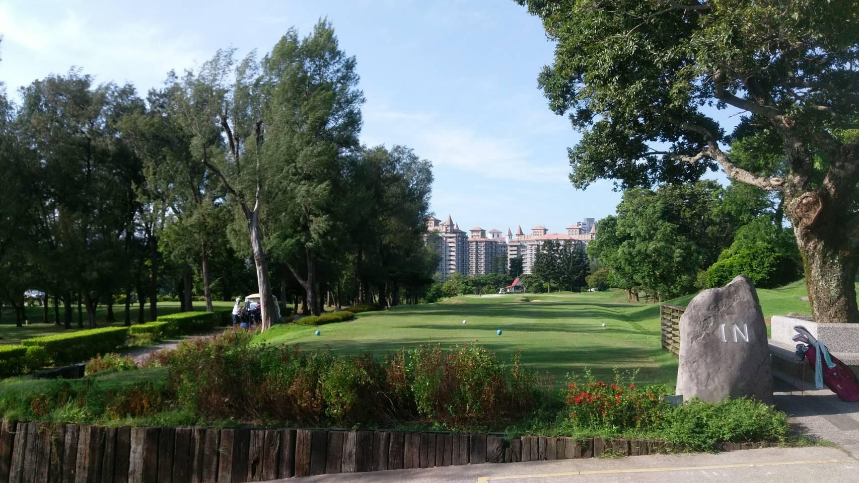 1日目のゴルフ場
