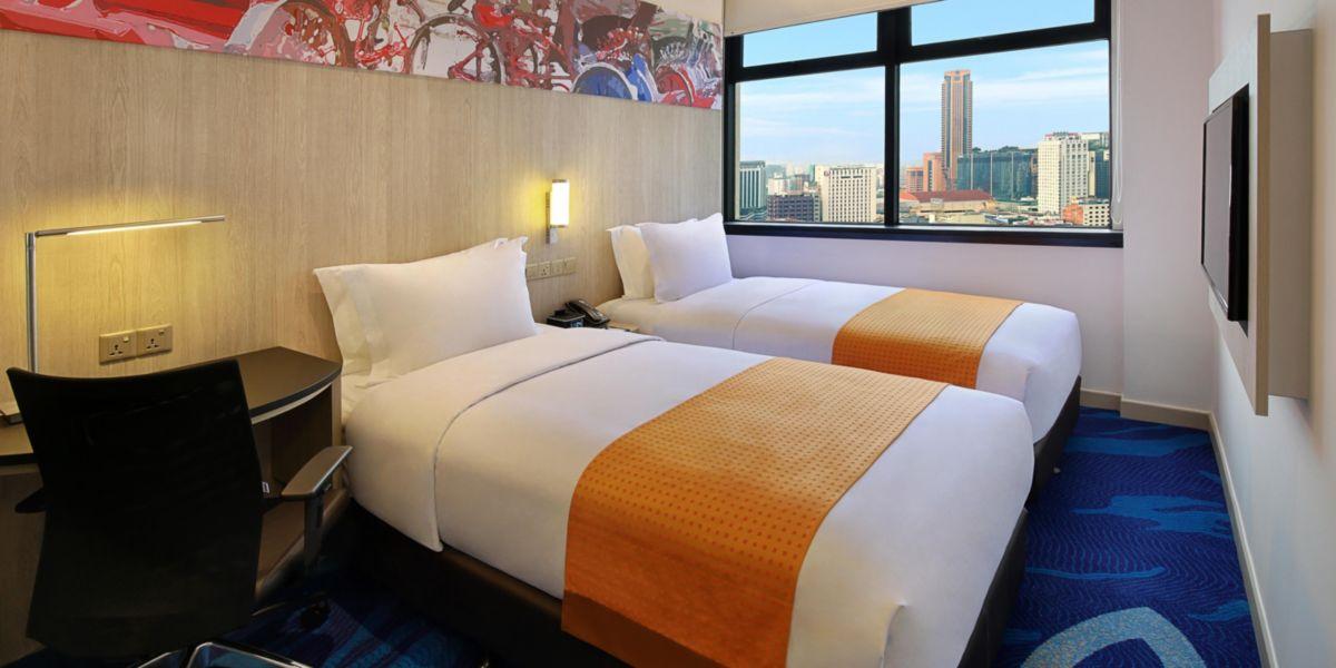 ホテル部屋写真 ホリデイ イン エクスプレス クアラルンプール