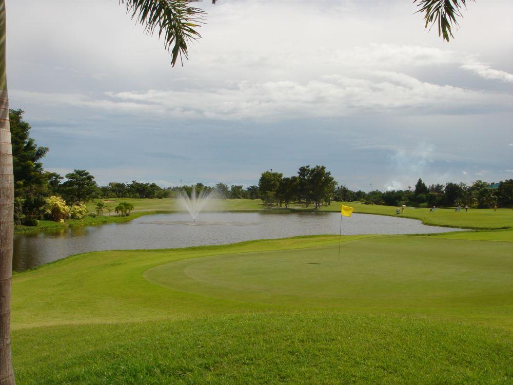 グリーンバレー カントリークラブ バンコク,タイゴルフ